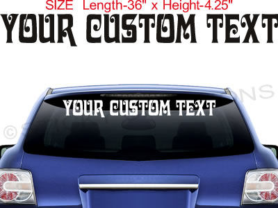 Custom Window Stickers Custom Vinyl Decals - Custom window decal stickers