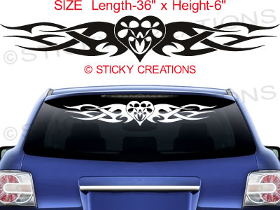 Graphic Design Stickers For Cars Custom Vinyl Decals - Car decals designmodified cars using tribal design decal car design